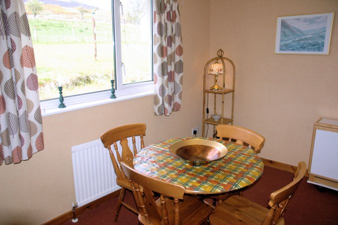 In Addition To The Dining Table Conservatory Strathardle Has A Separate Room