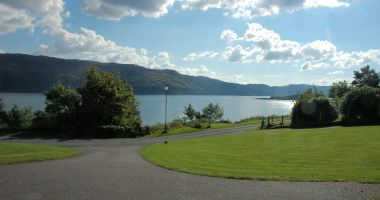 Tarlogie faces south and has superb views across Loch Carron.